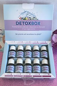 Detoxbox anticellulite Dr. Organic