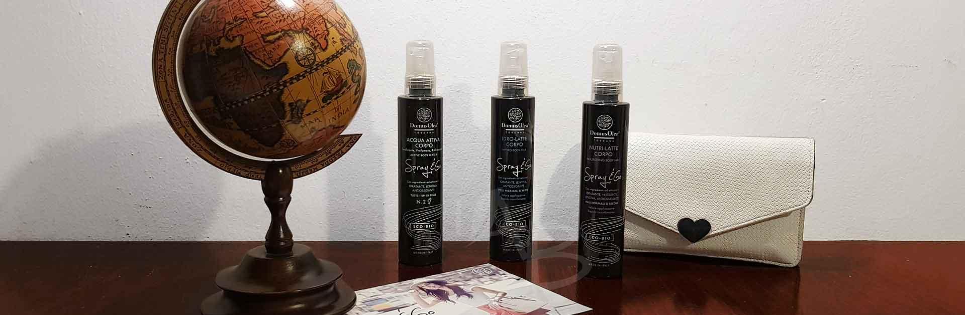 Linea spray & go di Domus Olea Toscana