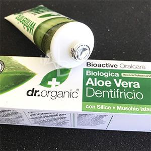 Tubetto di dentifricio Dr. Organic