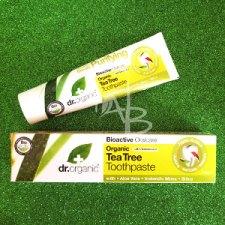 Dentifricio purificante di Dr. Organic