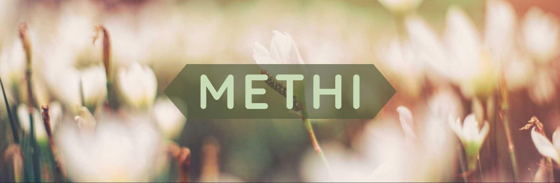 Copertina methi