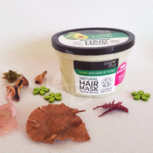 Maschera capelli avocado e miele Organic Shop