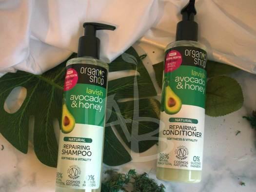 Shampoo e balsamo ristrutturanti Organic Shop