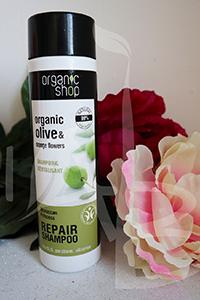 Shampoo olio di oliva Organic Shop