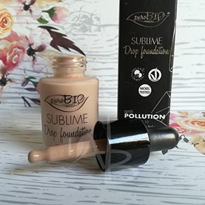 Drop foundation di Purobio cosmetics