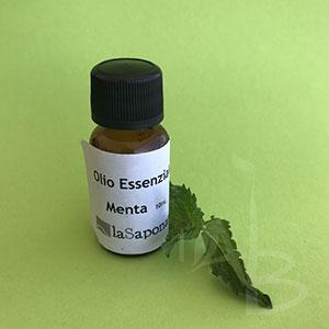 Olio essenziale di menta de La Saponaria