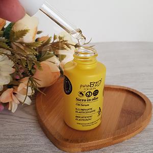 Texture del siero in olio PuroBIO for Skin