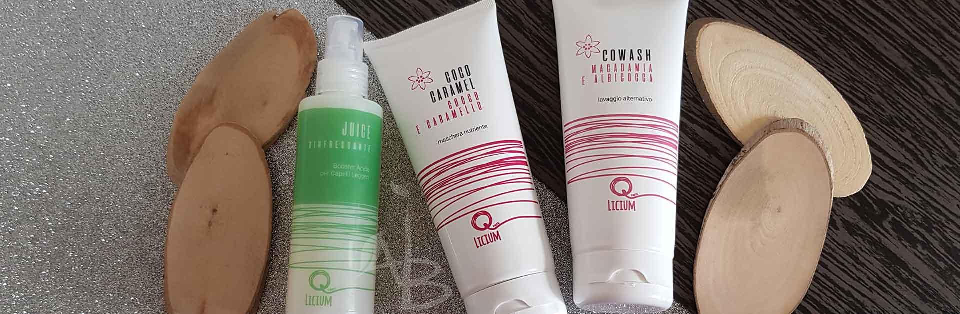 Le referenze per la cura dei capelli di Quantic Licium