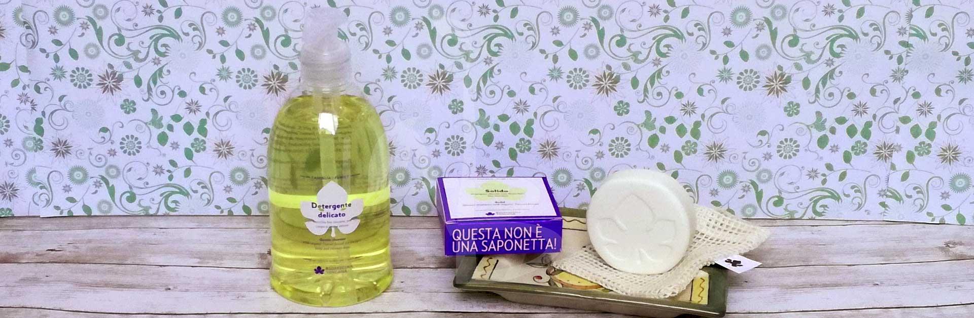 Detergente delicato e Shampoo doccia Solido di Biofficina Toscana