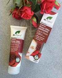 Maschera viso alla Rosa di Dr. Organic