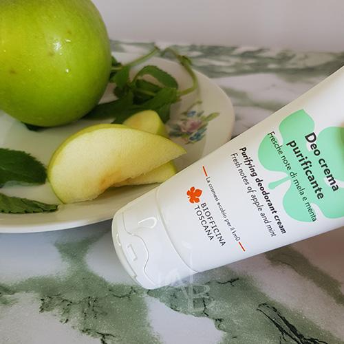 Packaging primario del deo crema Biofficina Toscana