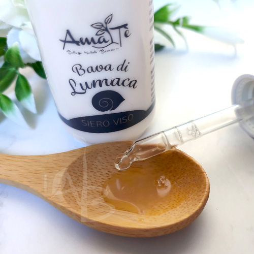Texture siero viso AmaTè linea Chiocciolina