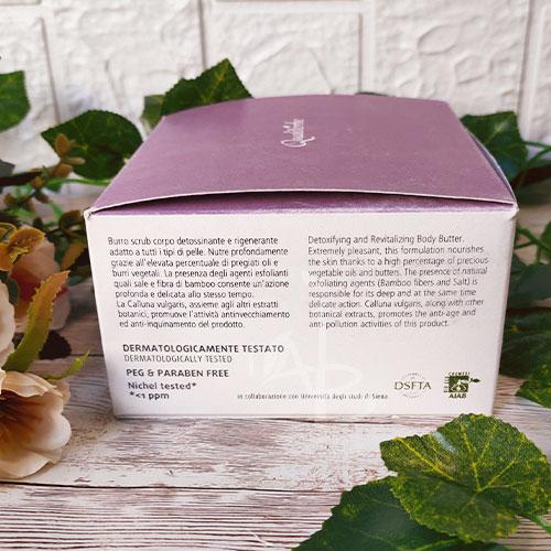 Packaging esterno dello scrub corpo di Qualiterbe