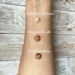BT Cream sul braccio di Concetta