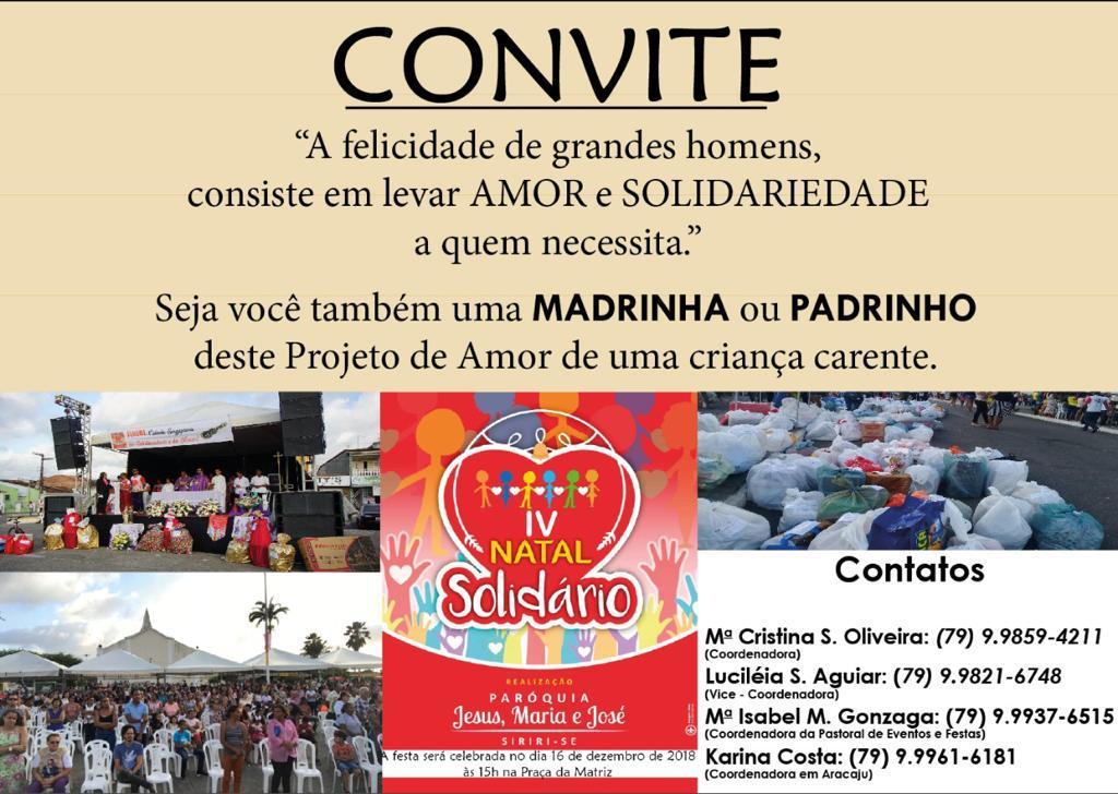IV Natal Solidário