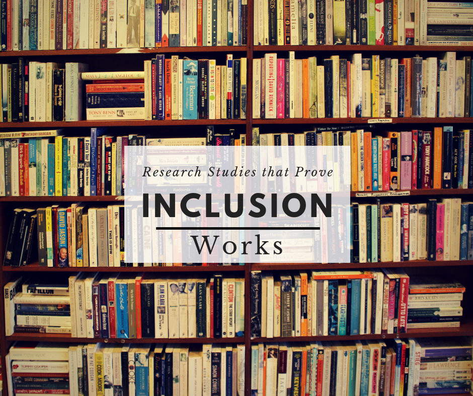 Your Childs Right To Inclusion Lre >> 7 Research Studies You Can Use At Your Child S Next Iep Meeting To