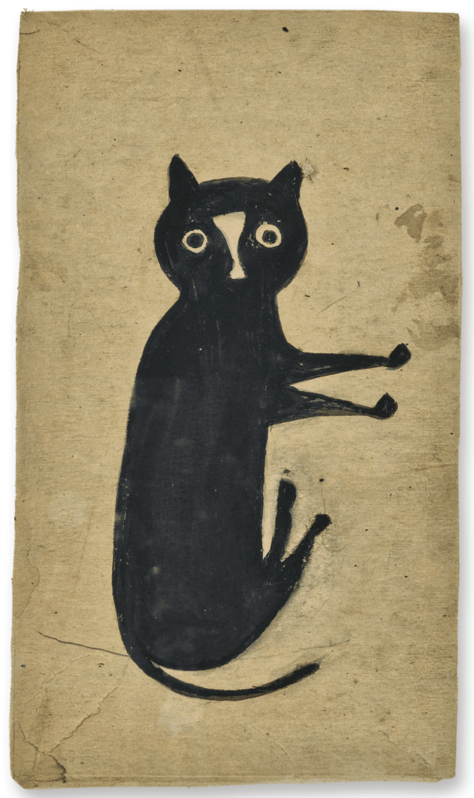 The Met Exhibits Rarely Seen Drawings By Bill Traylor By