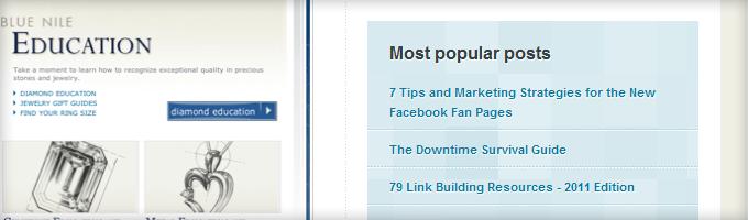 Kissmetrics Popular Posts 10 Design Elements All Big Blogs Have In Common