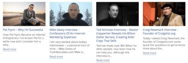 make money online with interviews