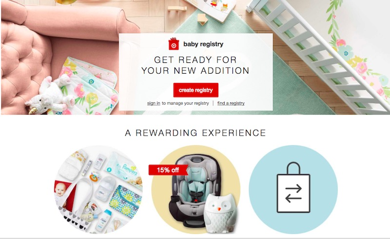 Target-Baby-Registry