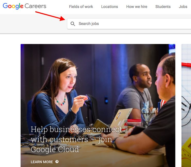 Make money online without investment with Google Careers