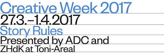 IN Communication ist Medienstelle der 2. Creative Week presented by ADC & ZHdK