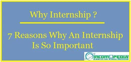 7 reasons to do an internship