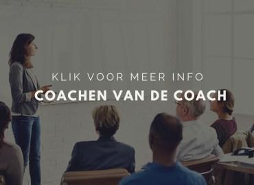 Coachen van de coach