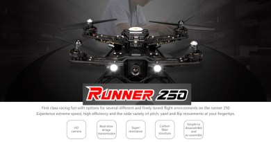 Walkera Runner 250 Header Image