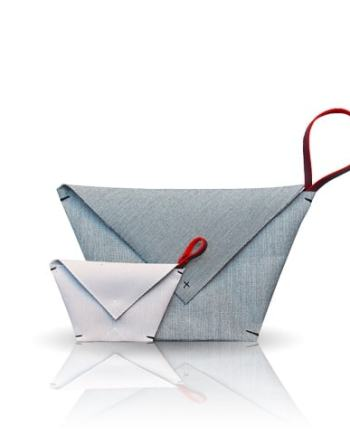 origami clutch double inconnulab