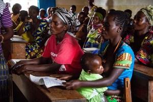 Corsi alfabetizzazione per donne - Congo R.D.