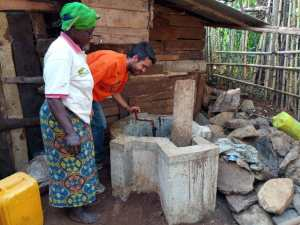 Manuel stagista di Incontro fra i Popoli a Bukavu