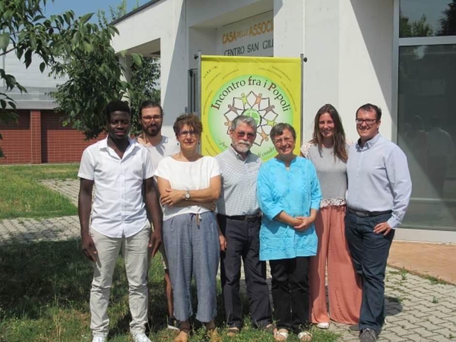 Foto dello staff di Incontro fra i Popoli
