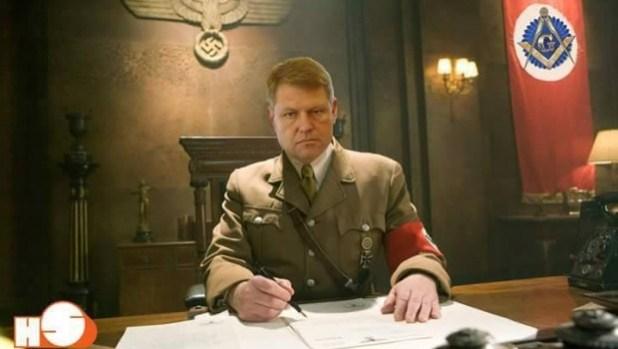 Nazistul Iohannis Apărat de (((Adevărul)))