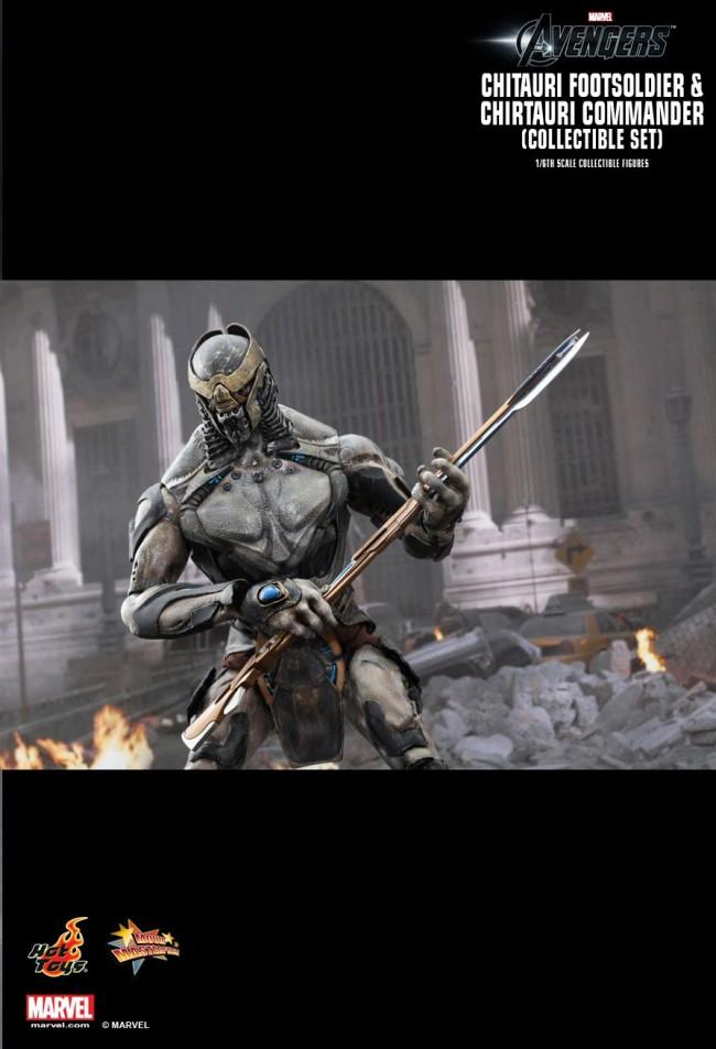 Chitauri Footsoldier Und Commander Set The Avengers