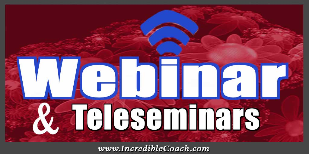 Webinar and Teleseminar Marketing