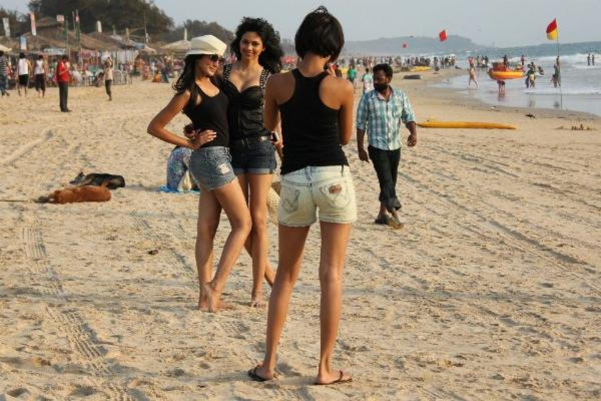 Domestic Tourist in Goa
