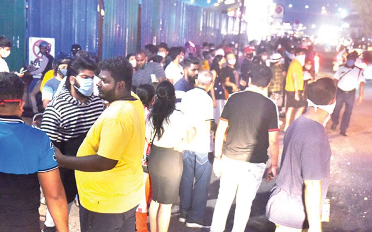 Panaji Streets Gets Overcrowded With Tourists
