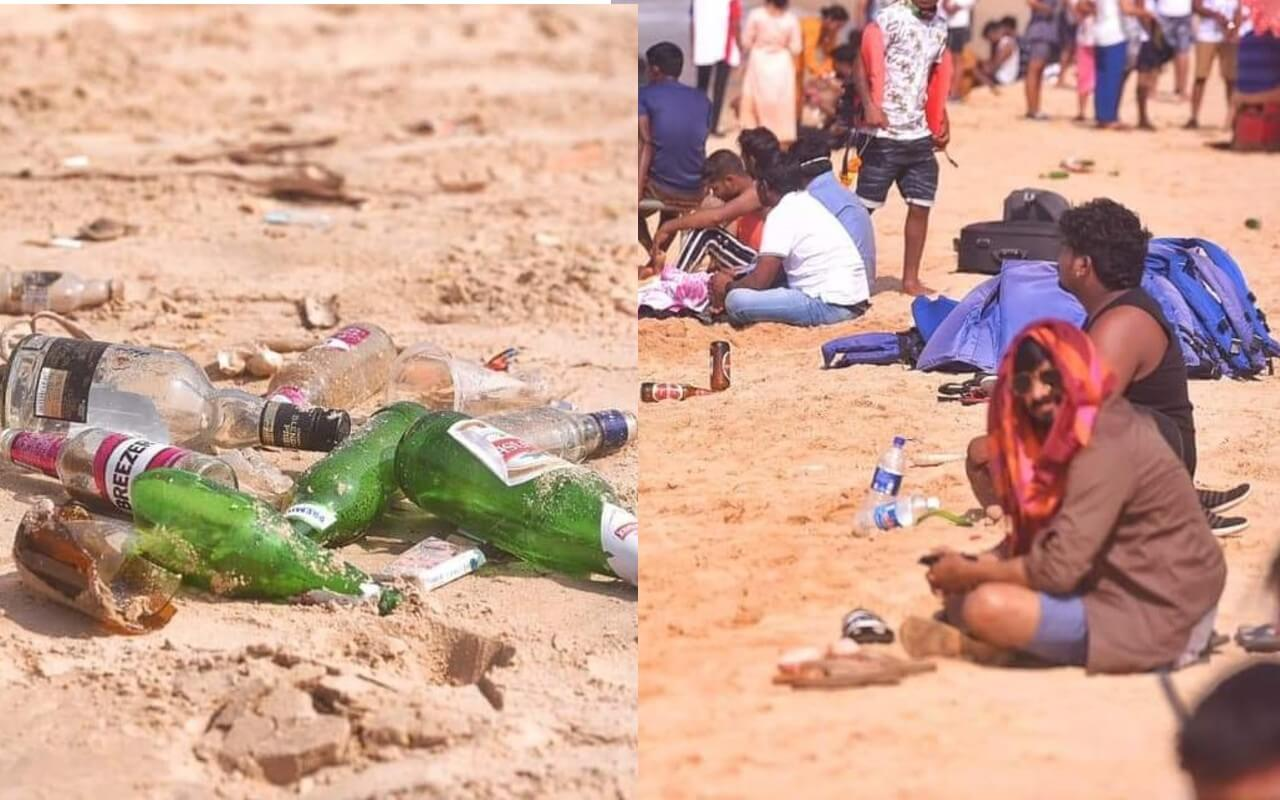 Fines For Drinking on Goan Beaches