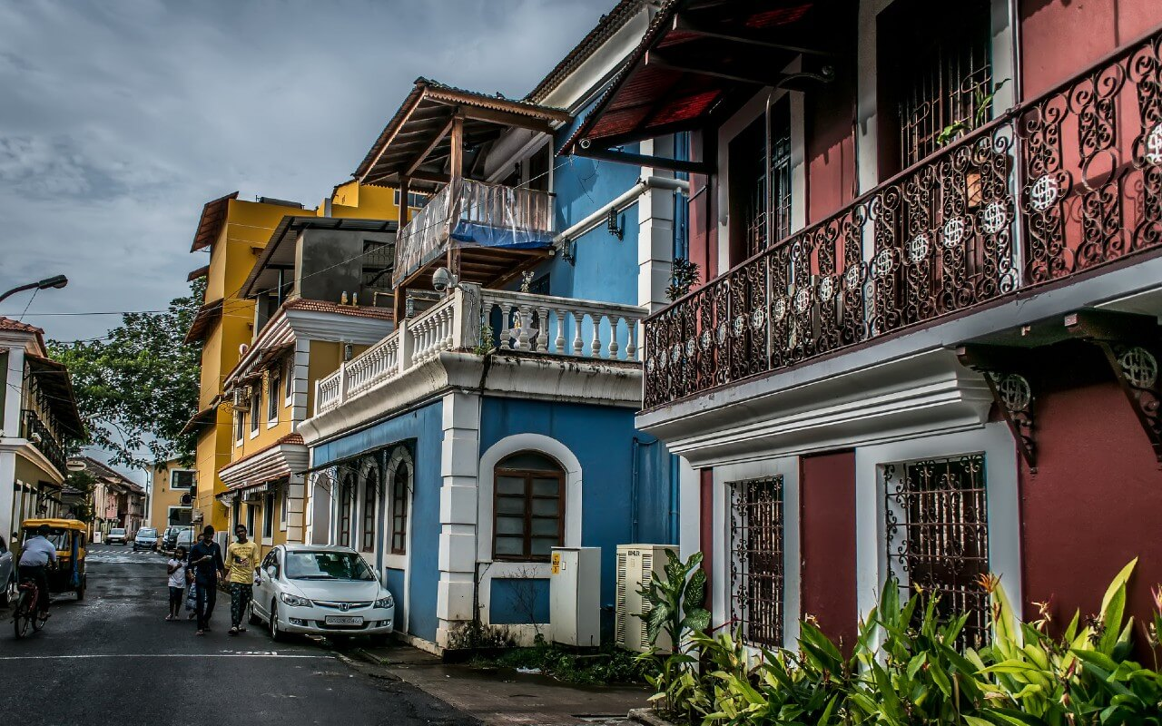 Colonial Houses in Goa