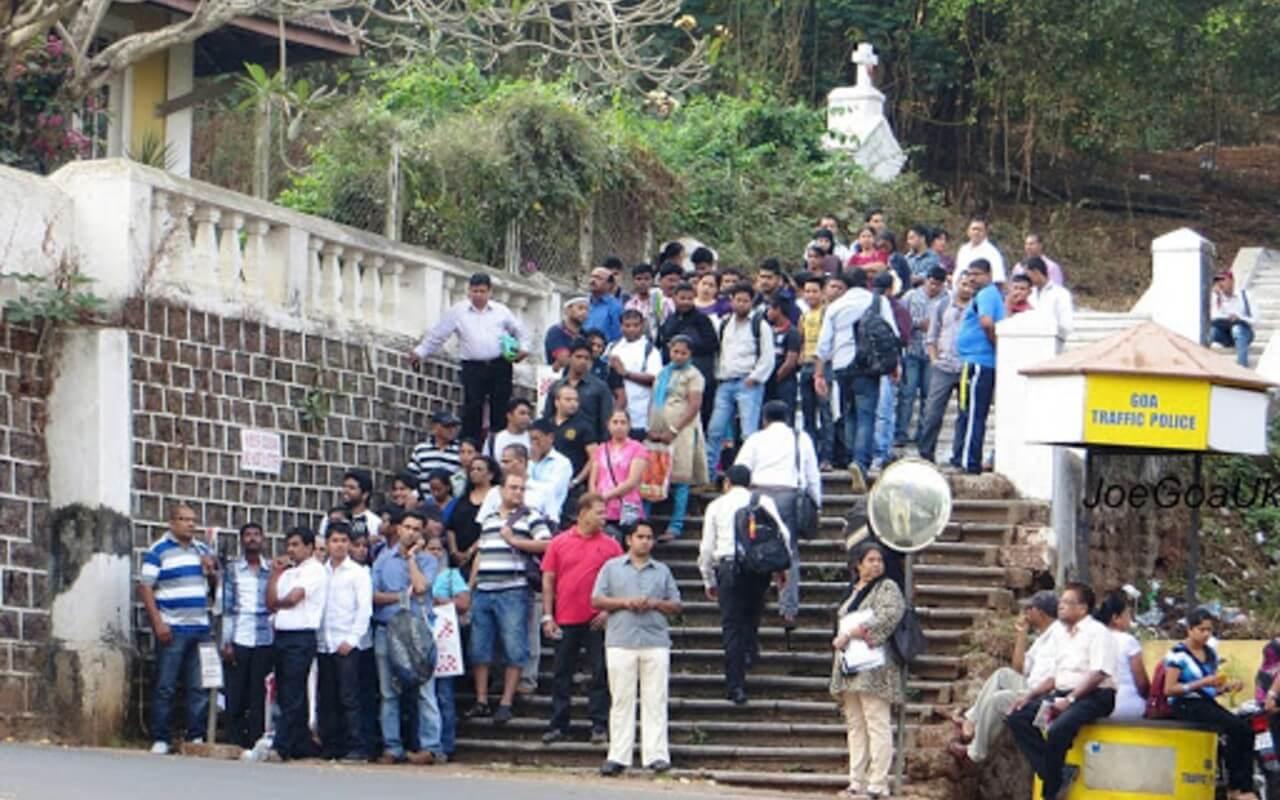 Goa's Unemployment
