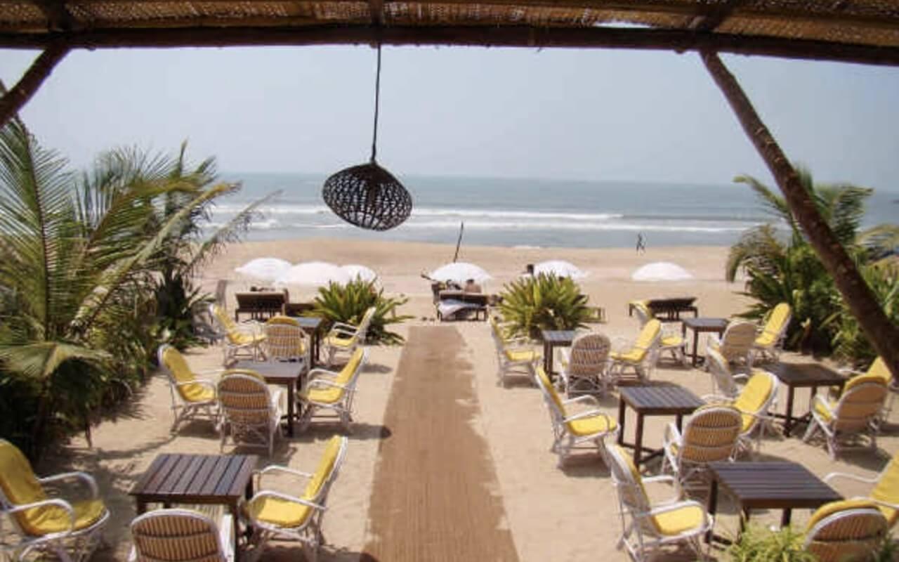 Shacks in Goa