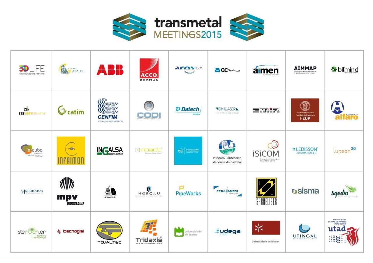 Transmetal Meetings 2015_Lista Empresas