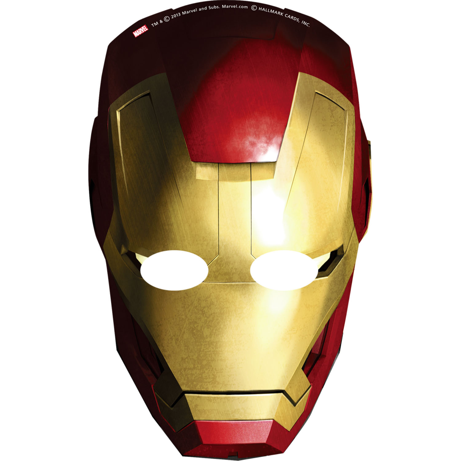 Iron Man Party Supplies Iron Man 3 Mask At ToyStop