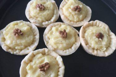 Tartellette brisée con crema al Parmigiano