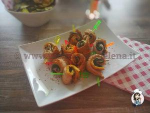 Rotolini di tacchino e zucchine