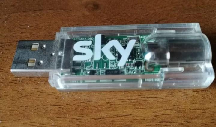 Sky digital key