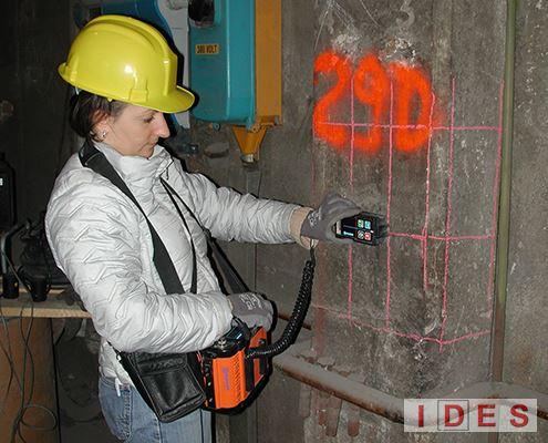 Indagine magnetometrica con pachometro