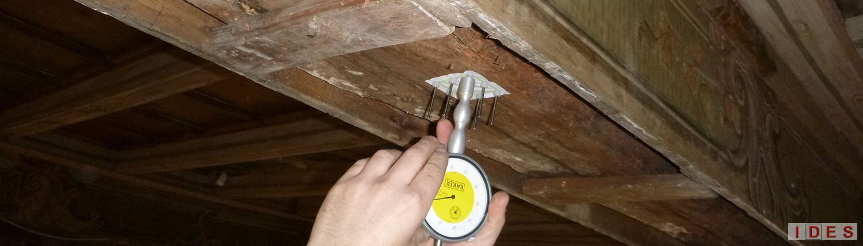 prova penetrometrica su legno