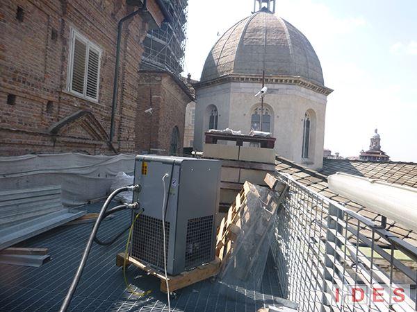 """Cappella della """"Sacra Sindone"""" - Torino - Pulitura criogenica"""